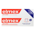 Dentifrice anti-caries Elmex - 2 x 125 ml