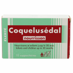Suppositoires Coquelusédal nourrisson x 10